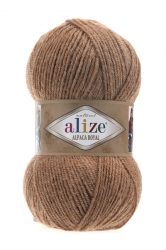 Alize Alpaca royal 466 верблюжий меланж