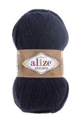 Alize Alpaca royal 58 темно-синий