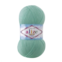 Alize Cotton gold fine 15 водная зелень - интернет магазин Стелла Арт