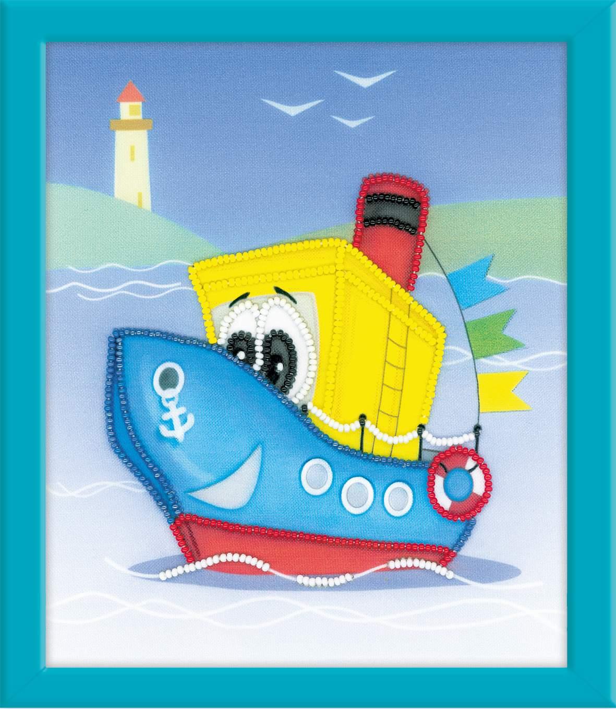 Виде, открытки с пароходом